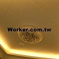天花板層板燈