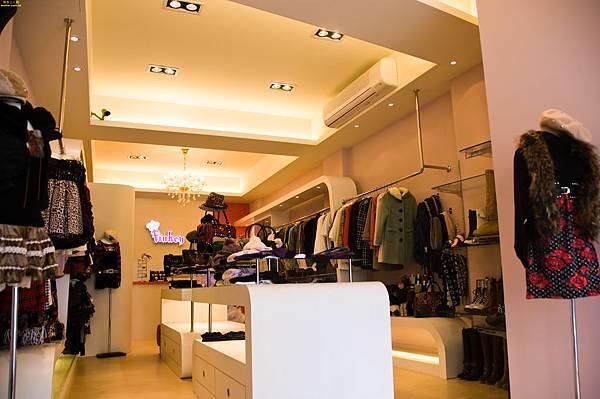 服飾店裝潢