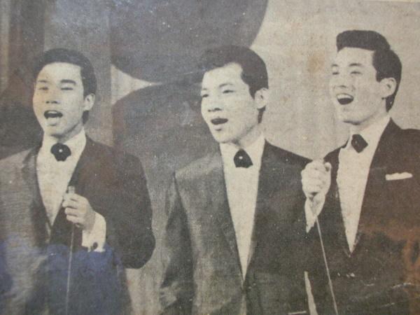 001青山(右)夏心(中)謝雷(左)三人能同台演唱實屬難能可貴