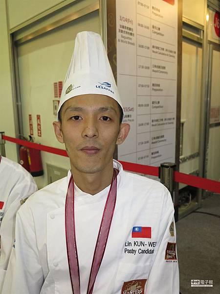 麵包師出頭天 林坤緯世界賽得季軍1
