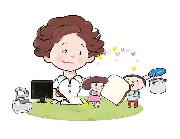 親子互動/愛的麵包(新聞分享)