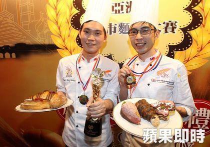 亞洲盃城市麵包大賽 來看冠軍麵包3