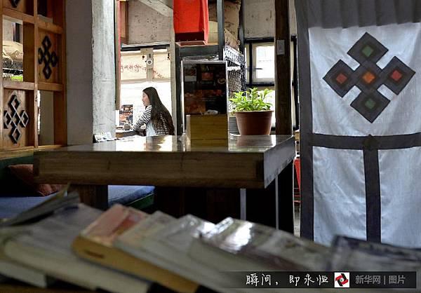 吃在西藏/黑青稞麵包 「西西結合」的藏族麵點4