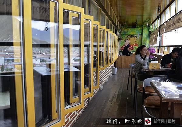 吃在西藏/黑青稞麵包 「西西結合」的藏族麵點8