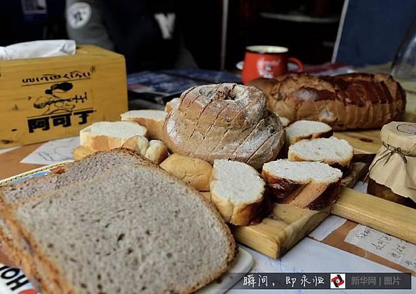 吃在西藏/黑青稞麵包 「西西結合」的藏族麵點3