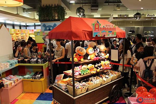 全球第一間麵包超人海外專門店《麵包超人館》盛大開幕3