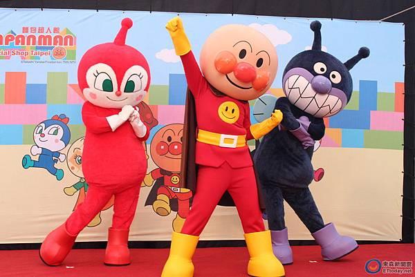 全球第一間麵包超人海外專門店《麵包超人館》盛大開幕(新聞分享)