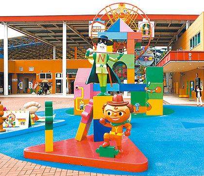 部落夯客:唯一擁有戶外遊樂區 名古屋麵包超人博物館2