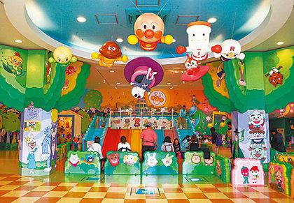 部落夯客:唯一擁有戶外遊樂區 名古屋麵包超人博物館4