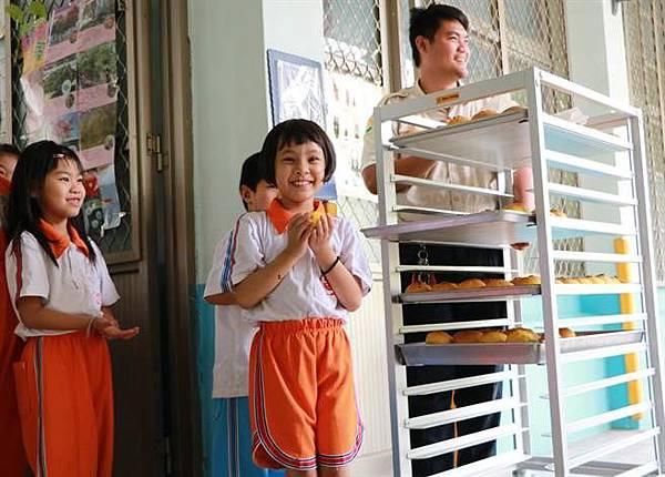 竹田國小校長麵包日 回憶都是甜甜的幸褔滋味2