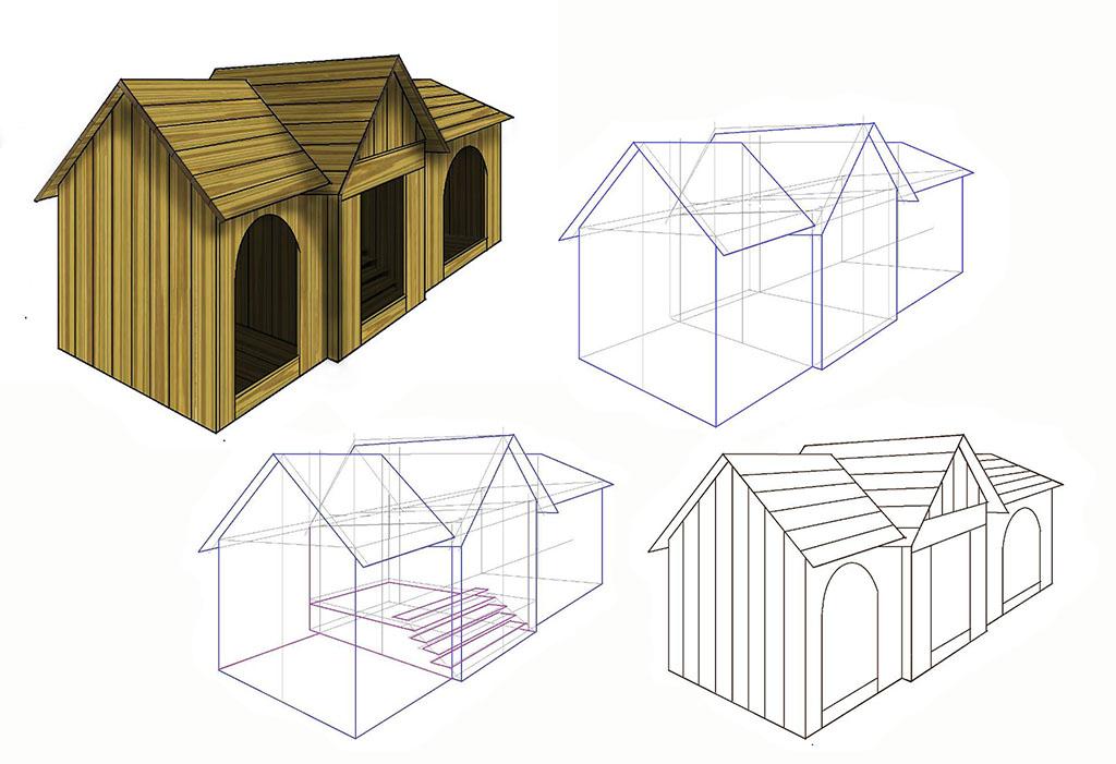 小木屋設計圖