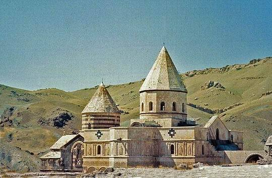伊朗的亞美尼亞修道院01