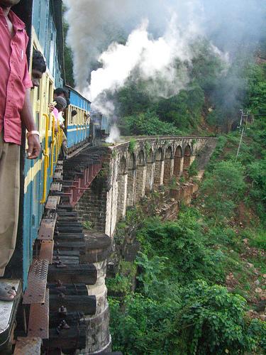 印度高山鐵路080701