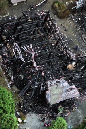 京都醍醐寺觀音堂燒毀01.jpg