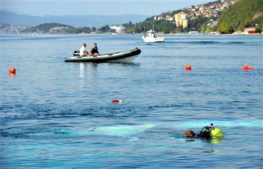 馬其頓世界遺產地遊船失事090906d.jpg