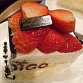 漂亮的草莓蛋糕
