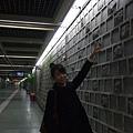 景福宮站連牆壁都有所不同