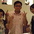 不過隊員小妹手震很嚴重啊~~~!結束,我回台北了