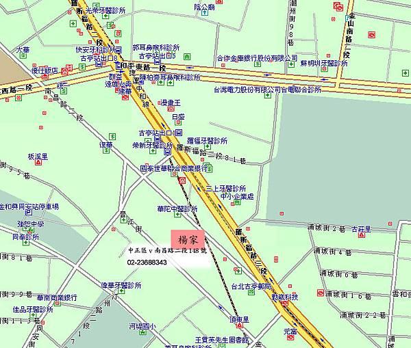 楊家機車行,地圖地址