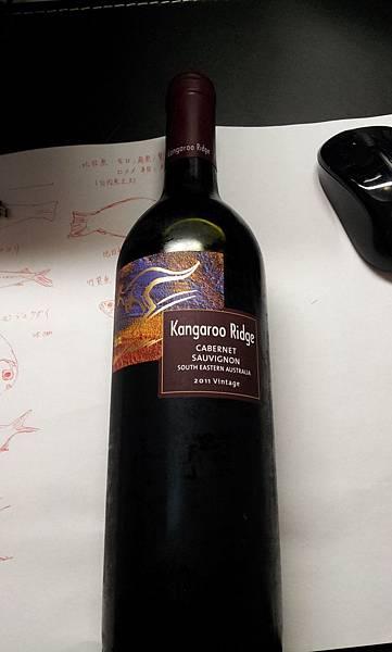 Kangaroo Ridge (Cabernet Sauvignon) 澳洲2011 $430