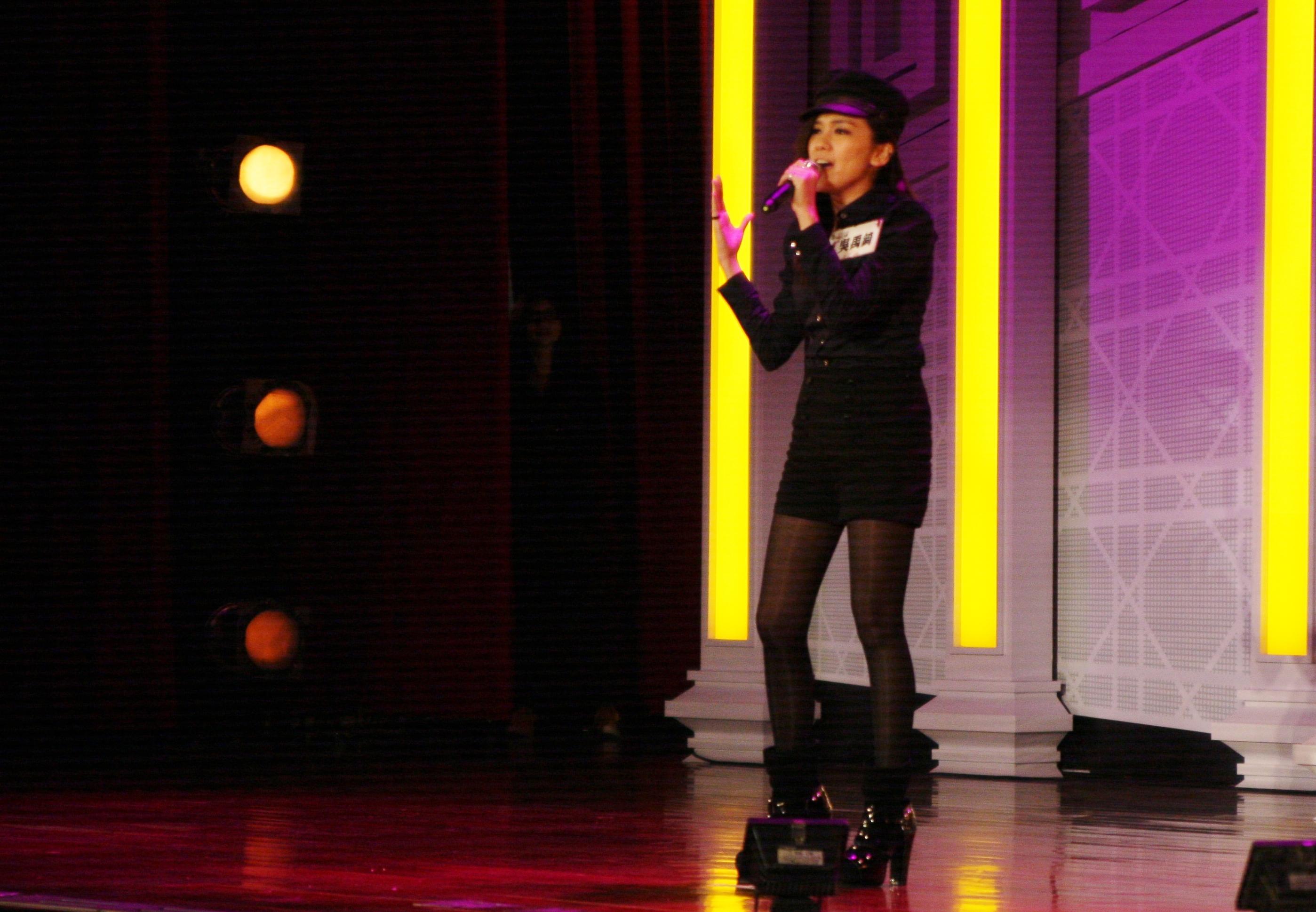 2012馬來西亞Popstar歌唱比賽季軍吳禹錡表演充滿專業水準