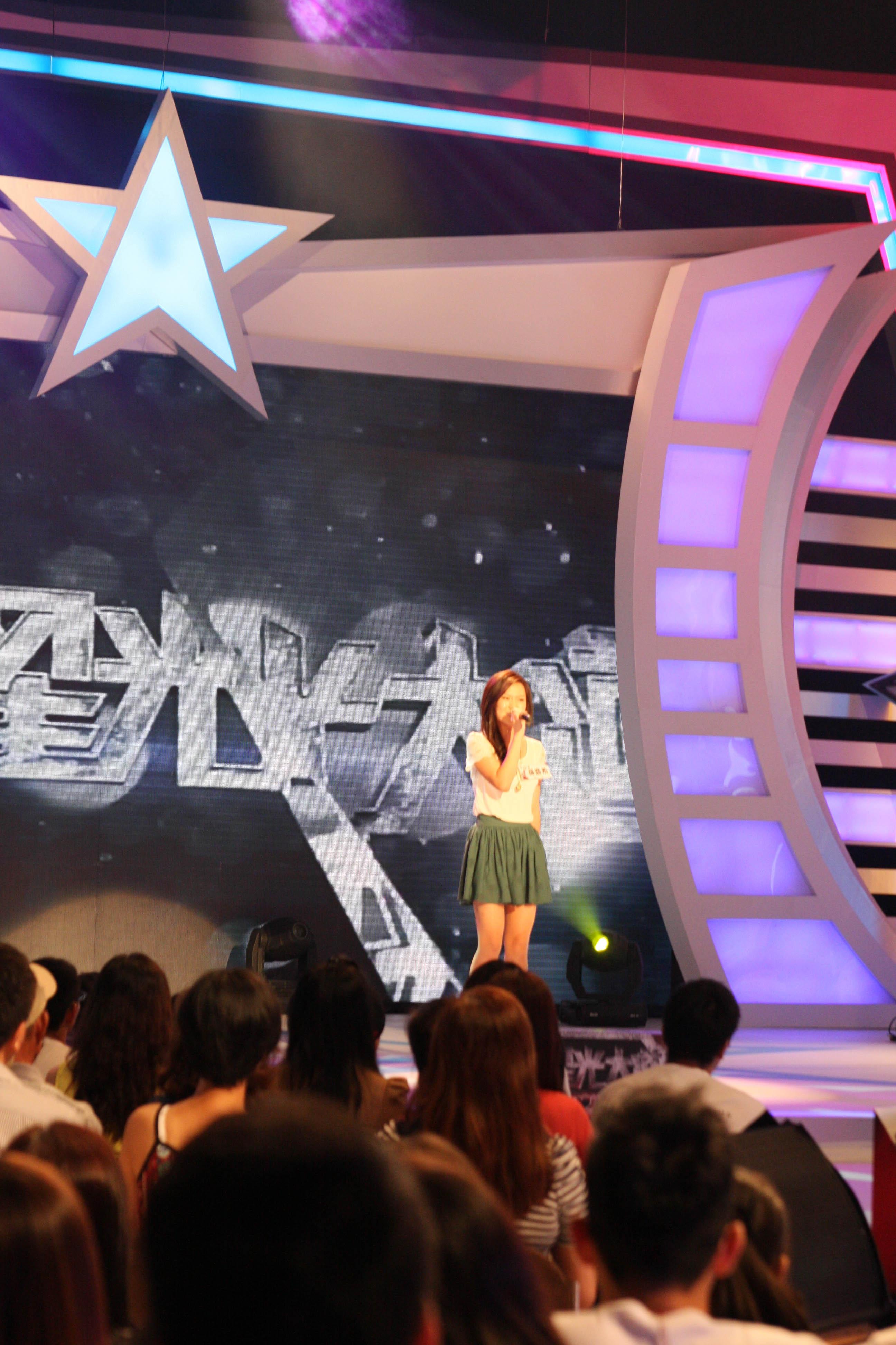 韓國華僑孫盛希 被評審阿翔認為演唱時身體太過於保守