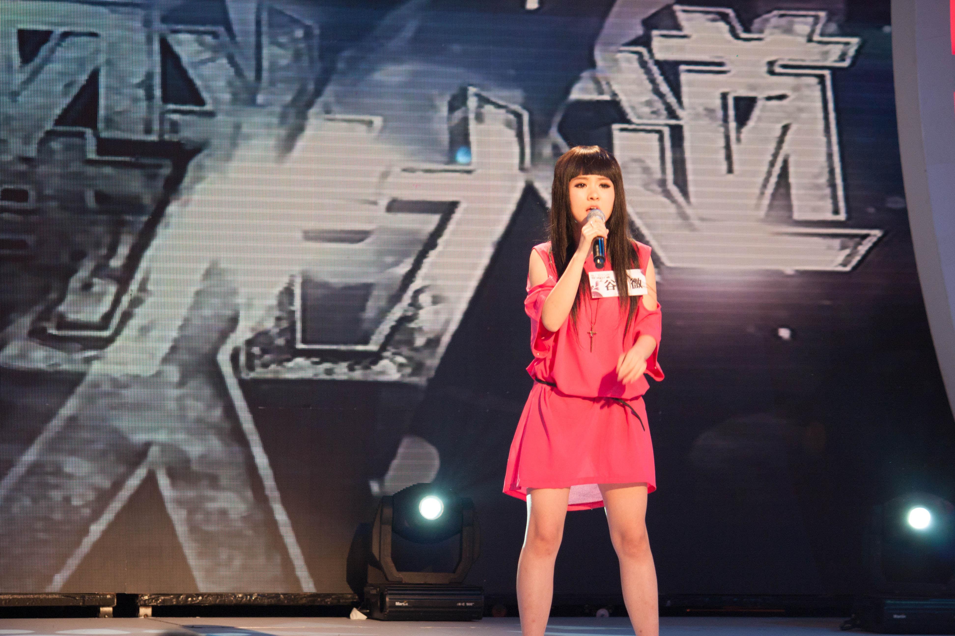 谷微演唱動人被評審稱讚全場最好