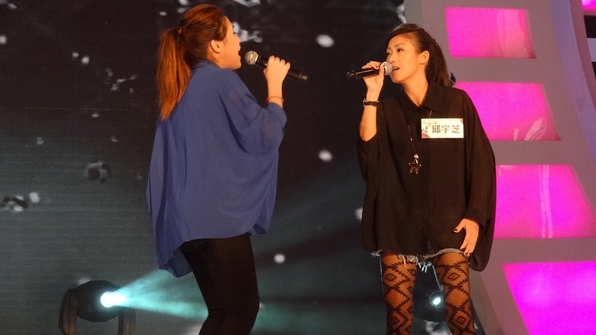 歌路相似的邱宇芝和陳雪芬 演唱張清芳的「無人熟識」讓評審林夕難以評分