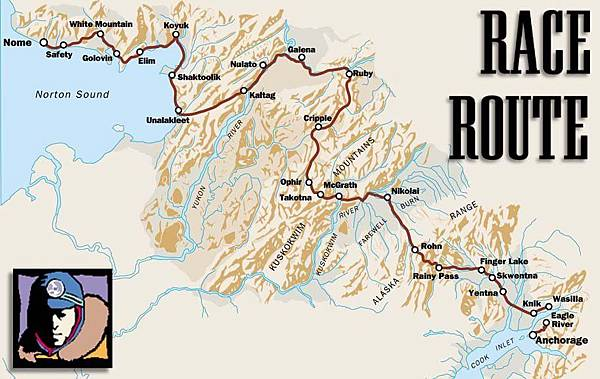 Iditarod_North_Route