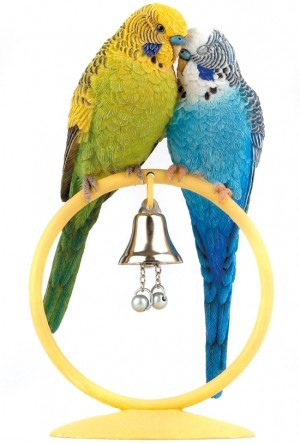 Budgerigar-ornament-country-artists