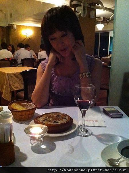 在紅洋蔥餐廳