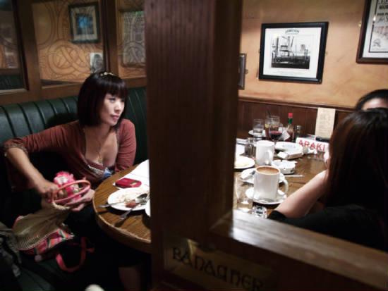 那天在台視錄影完,和好友約吃晚餐~