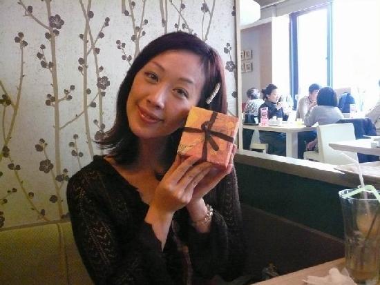 香娜生日當天已是邁入第4攤了~謝謝筱妍導演的禮物!