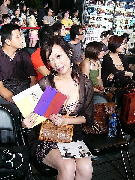 Shenna在看2008台北時尚秀