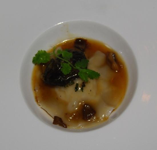松菇雞肉餃