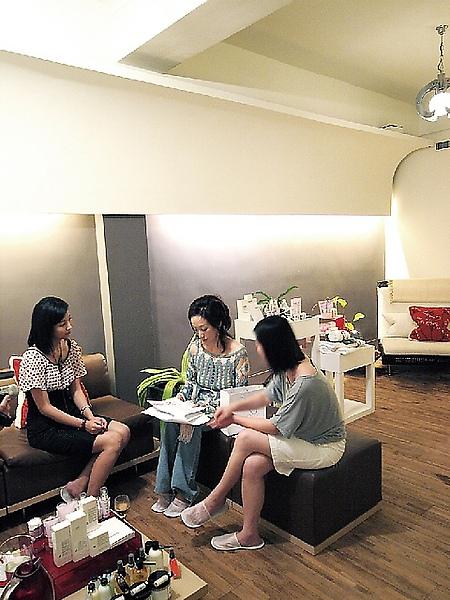 Shenna應泰奧菲Spa健康有機生活館之邀