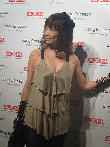 Attending Sony Ericsson & AXN Party