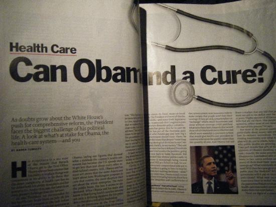 8月份的Time Magazine