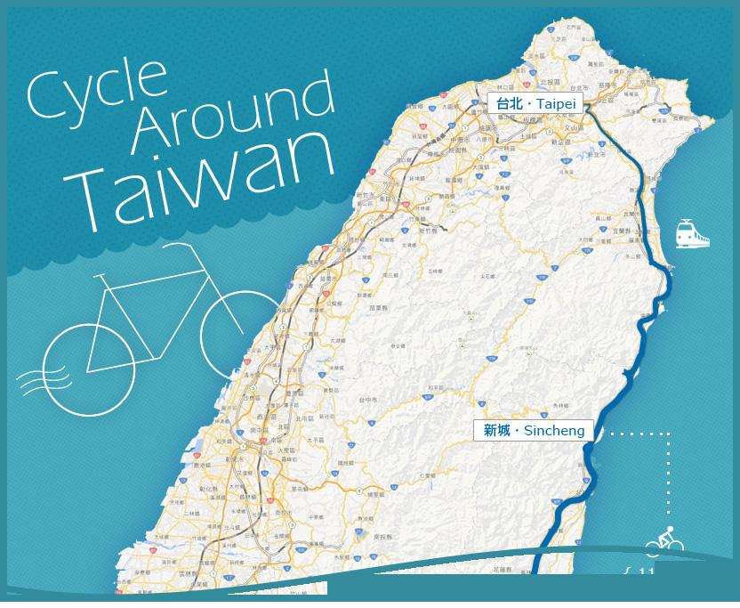 [台灣單車環島旅行] 單車環島旅遊行前準備之路線與裝備清單
