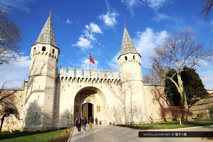 [土耳其.伊斯坦堡] 千年古城的記憶 | 托卡比皇宮(Topkapi Palace)與藍色清真寺 (Blue Mosque) | Day1-4