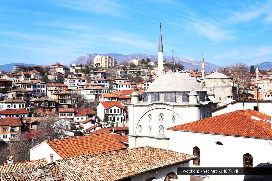 [土耳其.番紅花城 Safranbolu ]  充滿鄂圖曼式的世界遺產.站在至高點 Hidirlik Hill 俯瞰整個小鎮