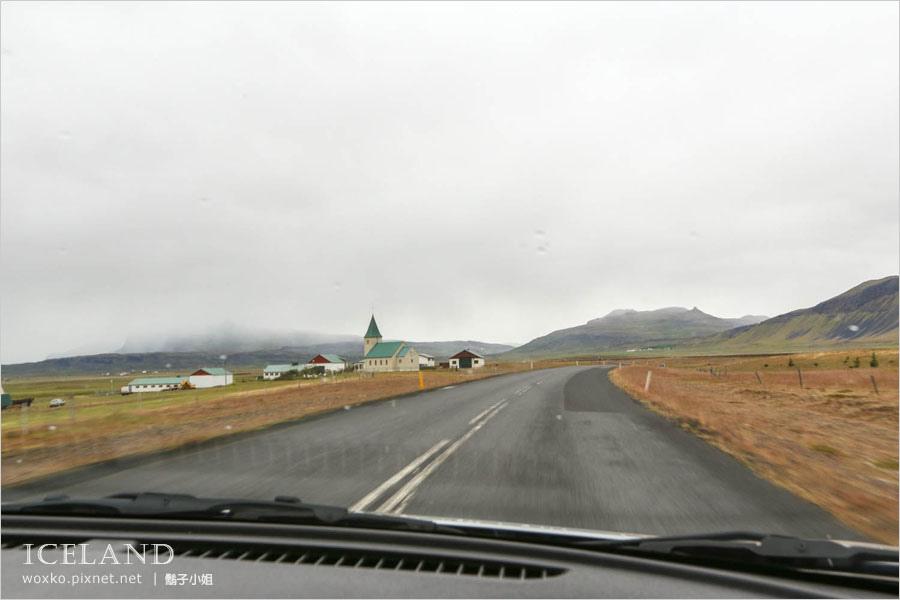 [冰島自助 Day1 ] 冰火交融的北緯 66 度.熔岩瀑布 Hraunfossar Waterfall 及 Grábrók 火山口