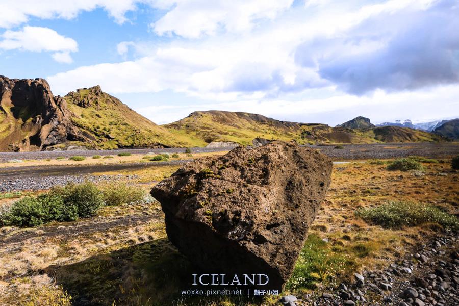 [冰島自助 Day3 (上) ] 北歐風景在冰島,冰島風景在內陸・踏入索爾峽谷 Thorsmork ( Þórsmörk )