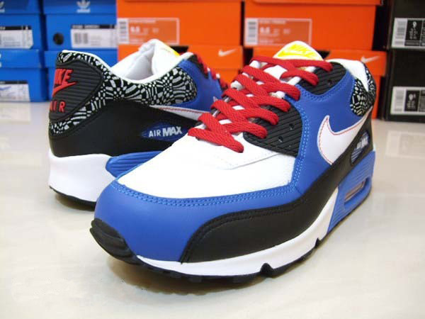 NIKE AIR MAX 90 leather 藍色小惡魔..jpg