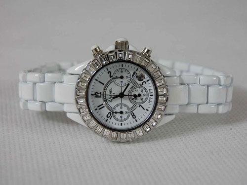 Chanel香奈兒J12外圈鑲鑽 陶瓷手錶.jpg