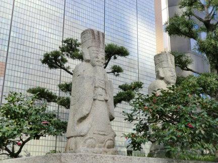 難波神社~路上