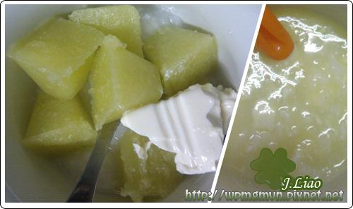 高麗菜豆腐粥01