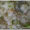 菜豆蟹肉海鮮粥