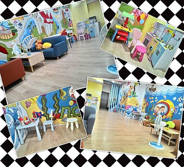 台南飛魔力親子民宿-1樓大廳