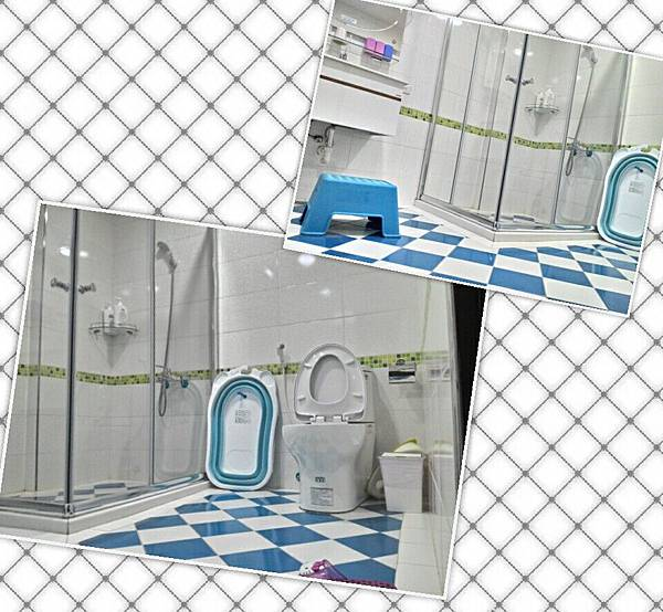 台南飛魔力親子民宿-2樓積木房(廁所)